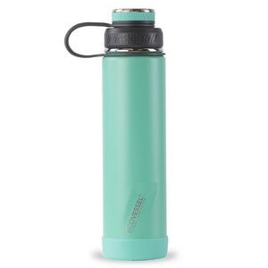 EcoVessel BOULDER TriMax� Insulated Stainless Steel Water Bottle - 24 oz - Aqua Breeze